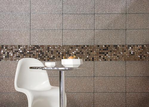 Porcelain Tile Turns Heads   Home Art Tile Kitchen and Bath