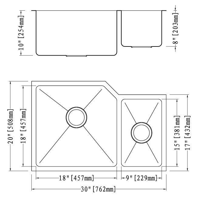 6HA8 3020D | Home Art Tile Kitchen and Bath