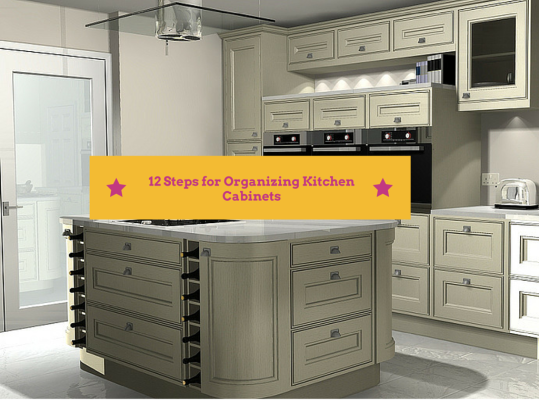 12 steps for organizing kitchen cabinets home art tile for Kitchen cabinets queens