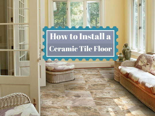 How To Install A Ceramic Tile Floor Home Art Tile In Queens NY