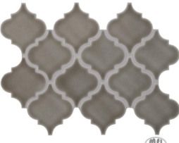 Introducing Dove Gray Arabesque Tile Home Art Tile In