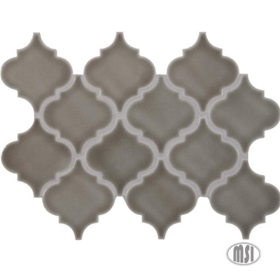 Introducing Dove Gray Arabesque Tile | Home Art Tile Kitchen and Bath