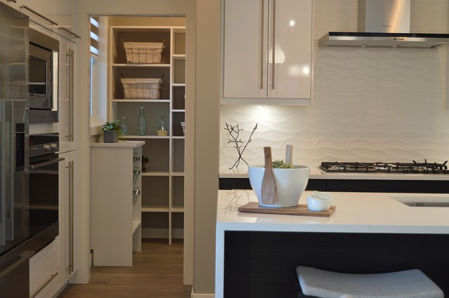 Popular Kitchen Pantry Cabinet Designs