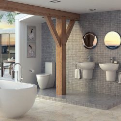 Ceramic tile in bathroom pros and cons