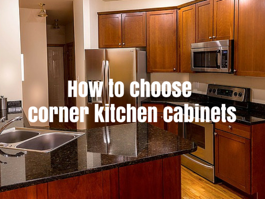 How to choose corner kitchen cabinets home art tile in for Kitchen cabinets queens