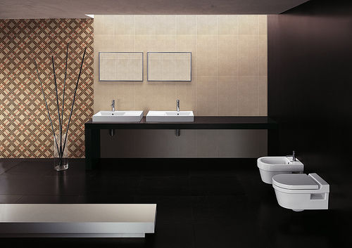 Porcelain Tile And The Traditional Bathroom Home Art