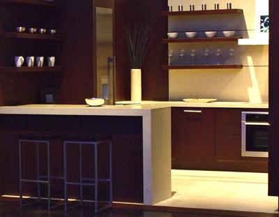 LG Minuet Quartz Countertops