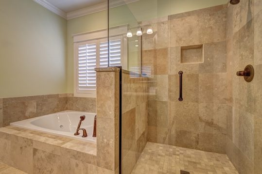 Half wall tile shower design ideas,remodel and decor - Home Art Tile ...