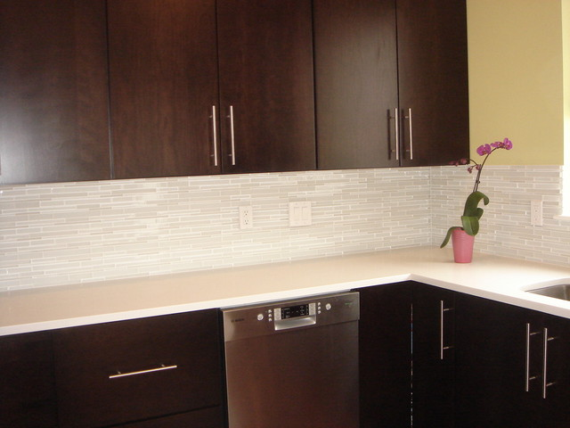 The Ceramic Subway Tile Backsplash Homearttile