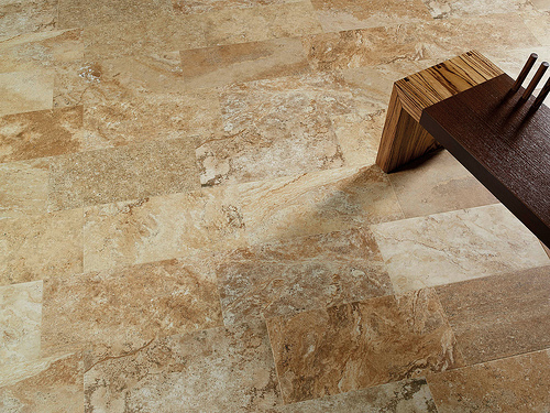 Revitalize a bathroom with porcelain tiles that look like wood