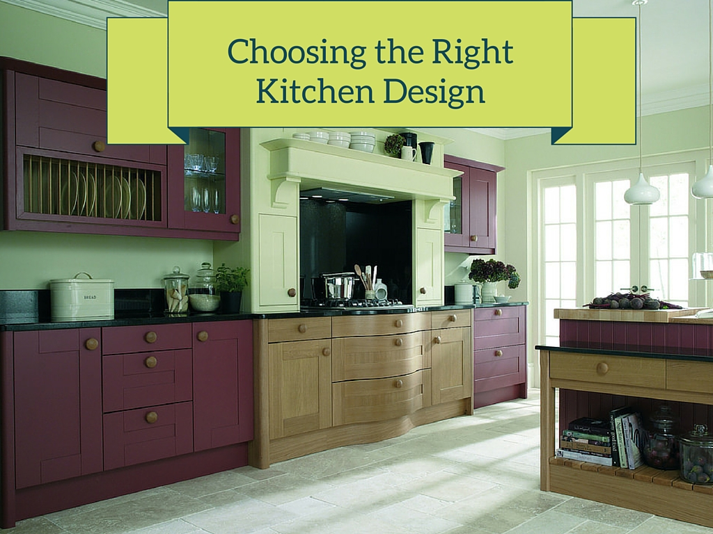 "ALT: ""choosing the right kitchen Design"""