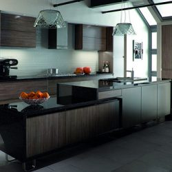Kitchen Cabinets Design: Go Stylishly Dark