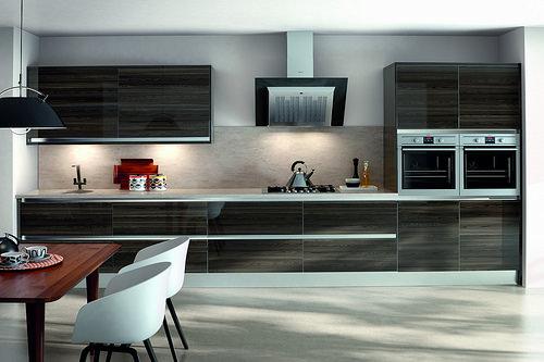 Kitchen Cabinets Design: Go Stylishly Dark | Home Art Tile Kitchen and Bath