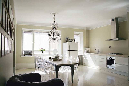 Kitchen Cabinet Color Ideas: Choose White for a Pristine Look