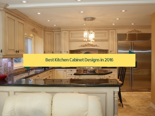 Best kitchen cabinet designs in 2016 homearttile for Popular kitchen designs