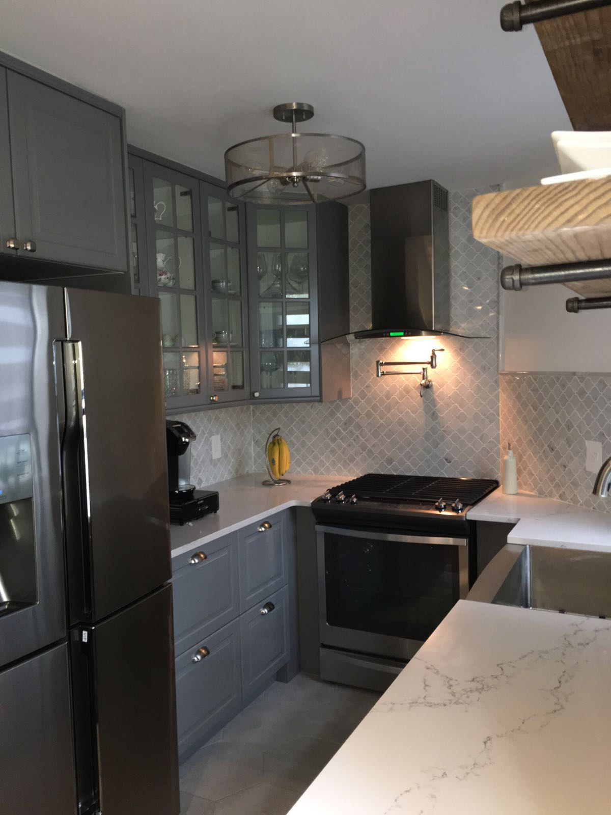 Testimonials home art tile in queens ny for Kitchen cabinets queens