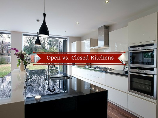 Open Floor Plans Vs Closed Floor Plans: Kitchen Style: Open Vs. Closed Kitchens