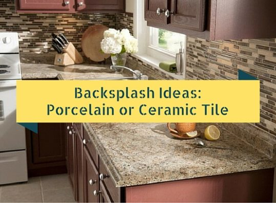 Backsplash ideas porcelain or ceramic tile hat for Ceramic tile backsplash designs kitchen
