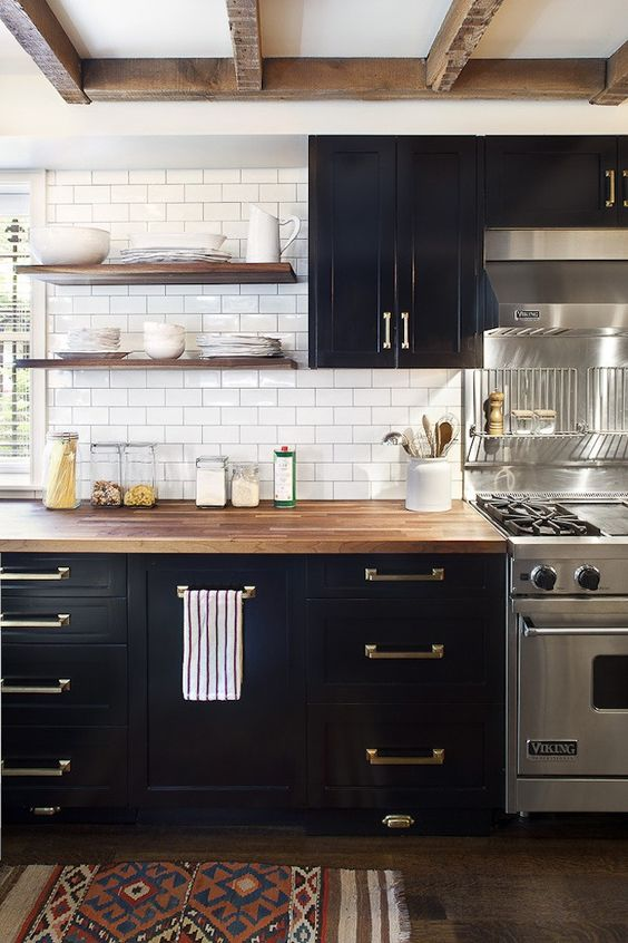 Modern Black Kitchen Cabinets modern kitchen cabinets – best ideas for 2017 - home art tile