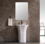 Resin Pedestal Sink
