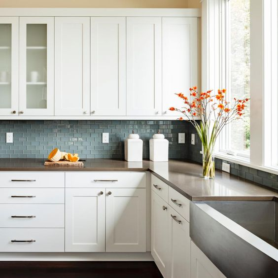 Shaker Style Countertops And Style On Pinterest: WHITE SHAKER CABINETS Discount [TRENDY] In Queens NY