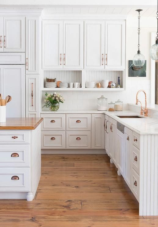 White shaker cabinets discount trendy in queens ny for Kitchen cabinets handles
