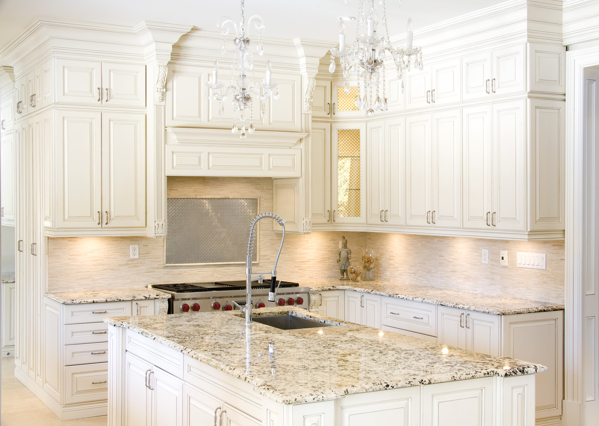 Superbe White Shaker Cabinets For Sale In Queens NY | Home Art Tile Kitchen And  Bath. White Shaker Cabinets With Granite Countertop ...