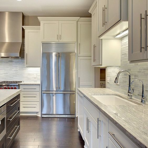 Kitchen Cabinet Door Molding: WHITE SHAKER CABINETS Discount [TRENDY] In Queens NY