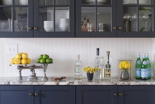 Cabinet Door Styles In TOP TRENDS For NY Kitchens - Kitchen cabinet doors with glass fronts
