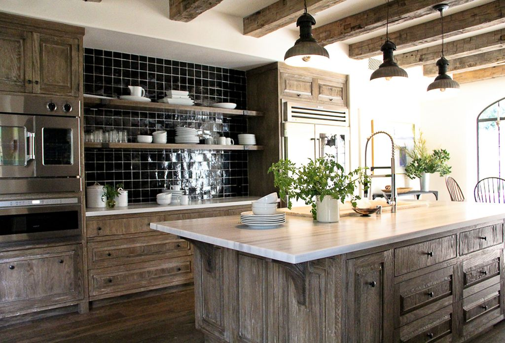 Cabinet door styles in 2018 top trends for ny kitchens for Bleached wood kitchen cabinets
