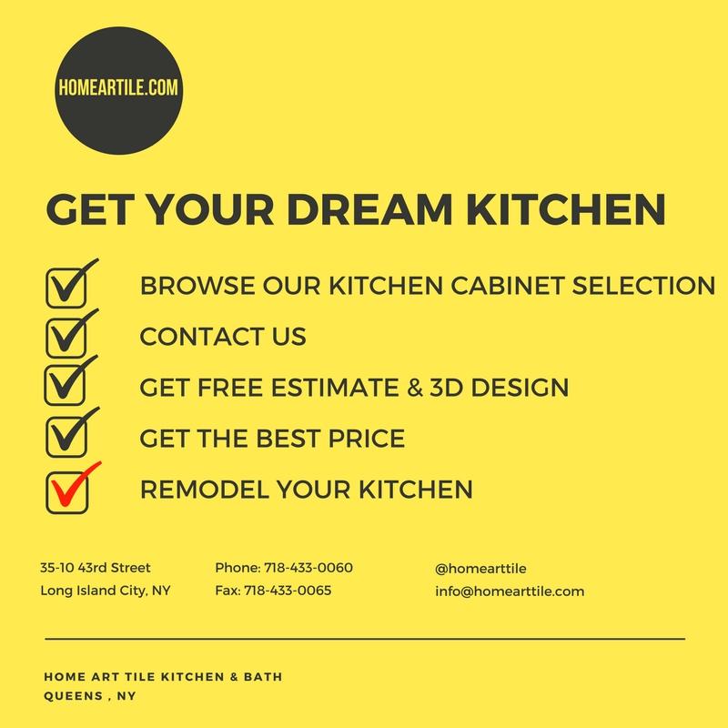 Kitchen Cabinets Brooklyn | Home Art Tile Kitchen and Bath