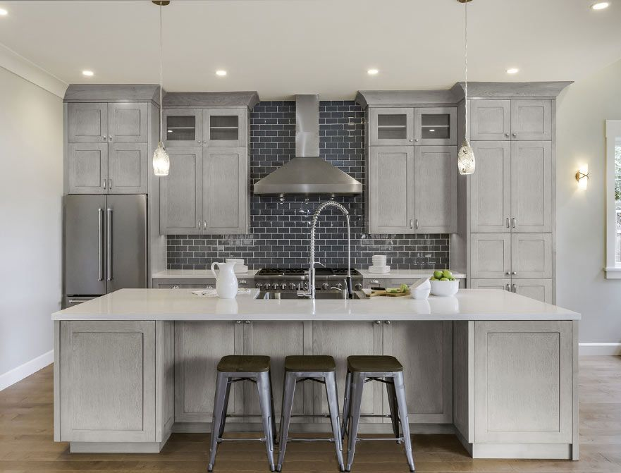Gray Kitchen Cabinets Best Selection in NY [Ultimate Guide]