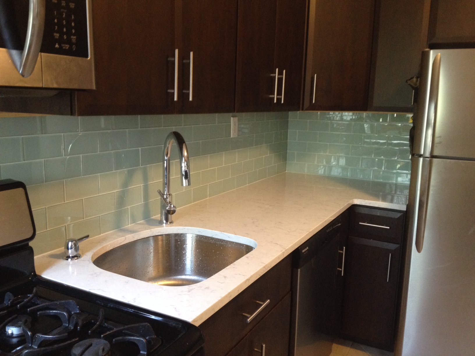 Kitchen Renovation Project Testimonials from Our Customers | Home Art Tile Kitchen and Bath