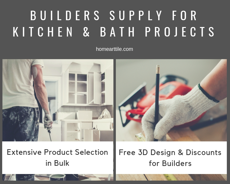 Builders Supply for Kitchen and Bath Projects in NY | Home Art Tile Kitchen and Bath