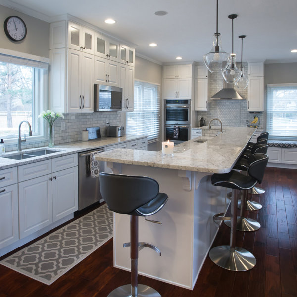 Kitchen Remodeling Manhattan Forevermark-Cabinets-Gramercy-White-Kitchen-Design