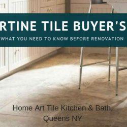 Travertine Tile Buyer's Guide