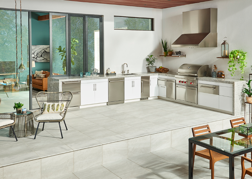 Porcelain Floor Tiles by MSI
