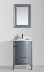 Rome 24 Charcoal Grey Vanity